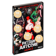 """Fetish Artcore"" 3, 4 DVDs"